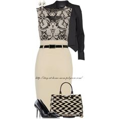 """""""A Classy Peek"""" by stay-at-home-mom on Polyvore"""