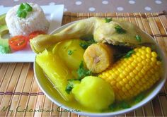 Sancocho de Pollo or Colombian Chicken Stew