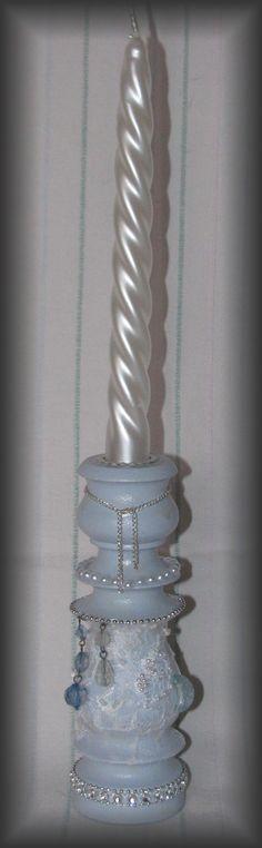 candlestick - scrapdekor & decoupage