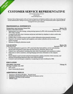 Summary Sample For Resume Impressive Sample Resume For A Customer Service Representative  Resume .
