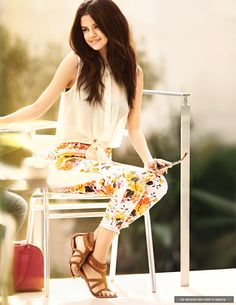 I'm getting these shoes from Selena's clothing line, Dream Out Loud! Yay!!!