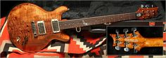 Custom Built PRS Guitar made for Keith Richards. I have to admit I love this. Nice inlay and beautiful finish.