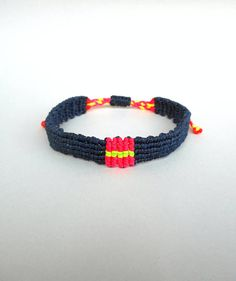 Mens bracelet Minimal bracelet Macrame bracelet Nautical