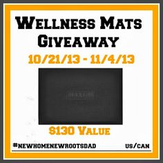 Wellness Mats Giveaway #newhomenewrootsdadKelly's Thoughts On Things#comment-27904#comment-27904 Enter to win