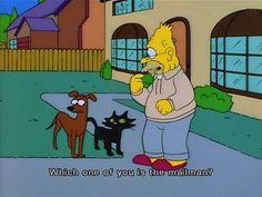 What's your favorite Abe Simpson moment? #abesimpson #thesimpsons #bestofsimpson #mailman #catdog