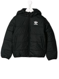Adidas Originals Kids' Reflective Padded Jacket In Black World Of Fashion, Kids Fashion, Fashion Design, Adidas Kids, Adidas Outfit, Padded Jacket, Adidas Originals, Adidas Jacket, Rain Jacket
