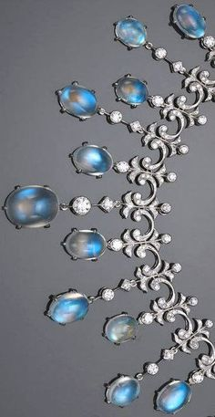 Fabulous moonstones and diamonds