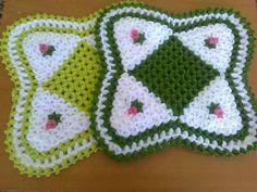 Easter Crochet, Crochet Art, Easy Crochet Patterns, Teapot Cover, Rugs And Mats, Crochet Potholders, Crochet Kitchen, Yarn Shop, Vintage Patterns