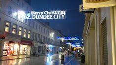 In Dundee, December 2011.