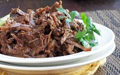 Slow Cooker Chili-Lime Shredded Beef