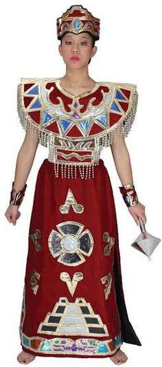 Resultado de imagen para disfraz de azteca