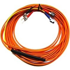NOB C2G Fiber Optic Duplex Network Cable - Fiber Optic for Network Device - 32.81 ft - 2 x ST Male Network - 2 x LC Male Network - 62.5 µm
