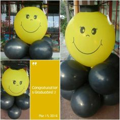 Graduation Balloons! For orders, please feel free to send us a message or call/text us at 09336989492... Thank you and God bless! #DavaoBalloons #GraduationBalloons