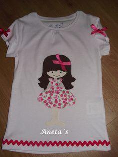 Aneta´s Camisetas: Camisetas con la muñeca Aneta.