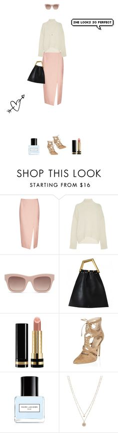 """Spring is coming."" by dorisruiyingli ❤ liked on Polyvore featuring C/MEO COLLECTIVE, Brock Collection, STELLA McCARTNEY, Gucci, Marc Jacobs and LC Lauren Conrad"
