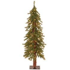 National Tree Hickory Cedar Tree with 100 Clear Lights 4Feet -- More info could be found at the image url.