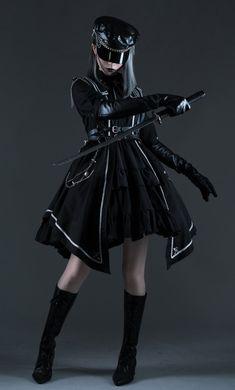 Cosplay Outfits, Edgy Outfits, Anime Outfits, Pretty Outfits, Cute Outfits, Kawaii Fashion, Lolita Fashion, Old Fashion Dresses, Fashion Outfits