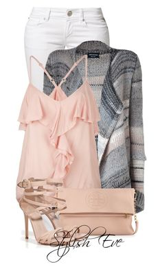 """Alaa."" by stylisheve ❤ liked on Polyvore featuring Replay, Zadig & Voltaire, Full Tilt, Tory Burch and Le Silla"