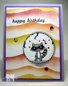 We Must Celebrate birthday card