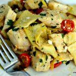 Skillet Chicken and Ravioli