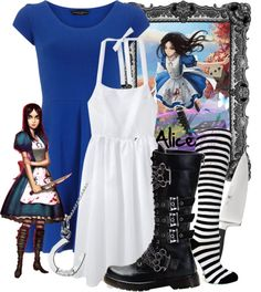 """Alice Madness Returns"" by the-disney-girl ❤ liked on Polyvore"