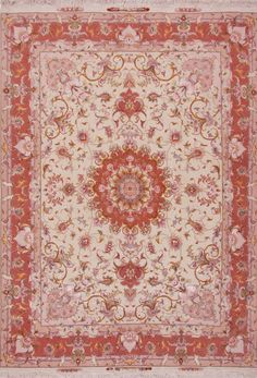"Tabriz rug fine 233255 Dimensions218 x 150 cm ( 7' 2"" x 4' 11"" ) Origin IRAN"