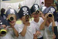 Período inicial Piratas y princesas a bordo