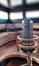 Loma-asuntomessut 2014 Kalajoki Finland - Finnish sauna