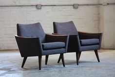 Definitive Mint Mid Century Modern Lounge Chairs (U.S.A., 1960's) | Flickr - Photo Sharing!