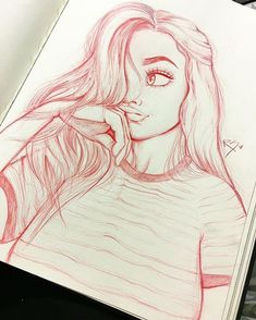 Image result for drawing tumblr girl