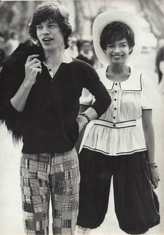 ROBERT COHEN for AGIP, Paris - MICK JAGGER and BIANCA de MACIAS, 20 April 1971 – Courtesy Calderwood Gallery