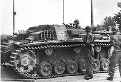 SS Stug III with the short 7.5 cm gun.