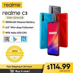 "realme C3 Unlockphone 3GB RAM 64GB ROM Mobile Phone MTK Helio G70 12MP Camera 6.5"" Mini-drop Fullscreen 5000mAh NFC Smartphones #realme6pro #realme6mobile #realme6prophone #realme6phone #realme6cover #realme6case #realme6backcover #realme6proprice #realme6white #realme6prounboxing realme 6 pro,realme 6 mobile,realme 6 pro phone,realme 6 phone,realme 6 cover,realme 6 case,realme 6 back cover,realme 6 pro price,realme 6 white,realme 6 pro unboxing,"