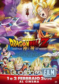 Il protagonista del cartone animato giapponese Dragon Ball Z La battaglia degli dei in Streaming e' Son Goku che questa volta deve combattere con il Dio della distruzione chiamato Bills che dopo lungo tempo si e' svegliato. Adesso tutti si chiedono se riuscira Goku a sconfigere il malefico Bills? perche' non si sa mai cosa gli ha preparato.