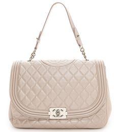 Chanel Boy Satchel Chanel Boy Satchel from Rachel White Vintage $5,750 via ShopBop