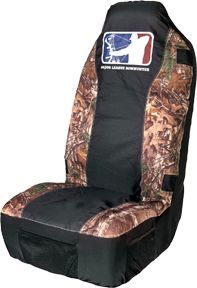 SIGNATURE PRODUCTS GROUP Major League Bowhunter Seat Cover Universal Realtree Xtra, EA