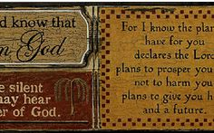 Religious Phrases Wallpaper Border