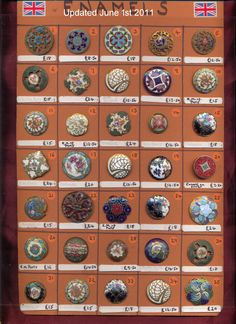 enamel buttons of Metal Buttons, Vintage Buttons, Button Crafts For Kids, Button Cards, Button Button, Button Necklace, Types Of Buttons, Sewing A Button, Sewing Notions