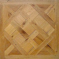 Hardwood flooring in solid oak. Traditional Parquet.