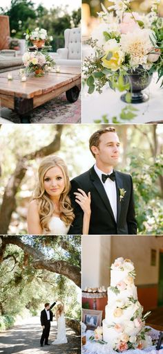 Ojai Wedding at Twin Peaks Ranch from Erin Hearts Court + Bash, Please   Style Me Pretty