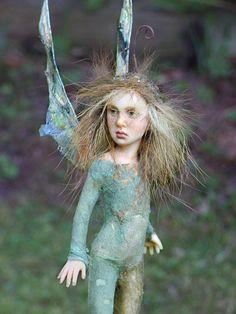 dolls by chopoli   Pixie girl Cosima ooak made by Tatjana Raum by chopoli on ...   Art...