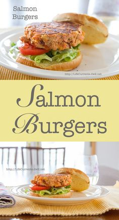 Salmon Burgers - Life Currents