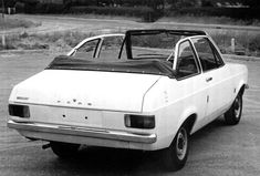 The Ford Escort MkII Westerham Convertible by Crayford. One of the few convertibles which look just as bad with the roof down as up Famous Dogs, Ford Classic Cars, Old Fords, Ford Escort, Convertible, Club, Vehicles, Mexico, Vans