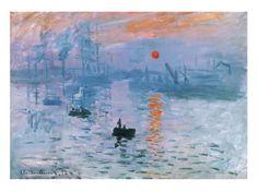 Impression Soleil Levant Julisteet tekijänä Claude Monet AllPosters.fi-sivustossa