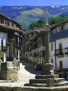 Candelario, Salamanca-España  Espana Få mere information på vores websted   https://storelatina.com/espana/blog #španielsko #سپین #ስፔይን #ஸ்பெயின்