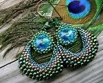 Fotopostup na shambala náramok IV. Lany, Crochet Earrings, Turquoise, Jewelry, Fashion, Scrappy Quilts, Paper, Hens, Author