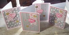 Sharon's Inkie Fingers: Paper Pumpkin Valentines