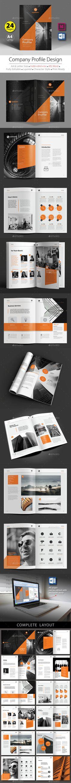 A4 & Letter Size - Company Profile Design Template V.3. InDesign (INDD) & MS Word. Download link : https://graphicriver.net/item/company-profile-design-template-v5/19560760?ref=marlakk