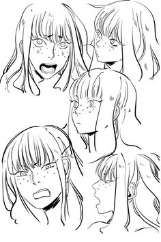 When I draw Clary's expressions, I just imagine a very excitable cat.