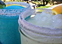 Blue Frozen Margarita